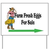 Farm Fresh Eggs for Sale/Yard Sign