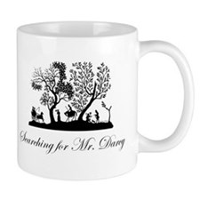 Searching for Mr. Darcy Jane Austen Gift Mug