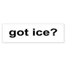 Got Ice? Bumper Sticker