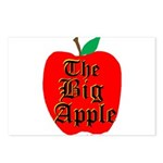 THE BIG APPLE Postcards (Package of 8)