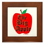 THE BIG APPLE Framed Tile