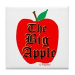 THE BIG APPLE Tile Coaster