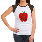 THE BIG APPLE Women's Cap Sleeve T-Shirt
