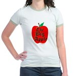 THE BIG APPLE Jr. Ringer T-Shirt