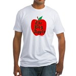 THE BIG APPLE Fitted T-Shirt
