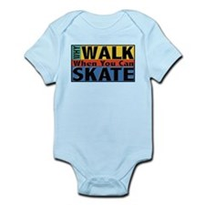 Why Walk Skate Infant Bodysuit