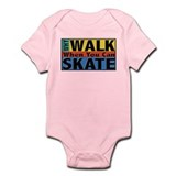 Why Walk Skate Onesie