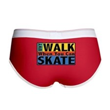 Why Walk Skate Women's Boy Brief