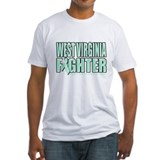 West Virginia Ovarian Cancer Fighter Shirt
