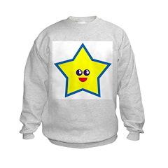 Chickbiddies Star Kids Sweatshirt