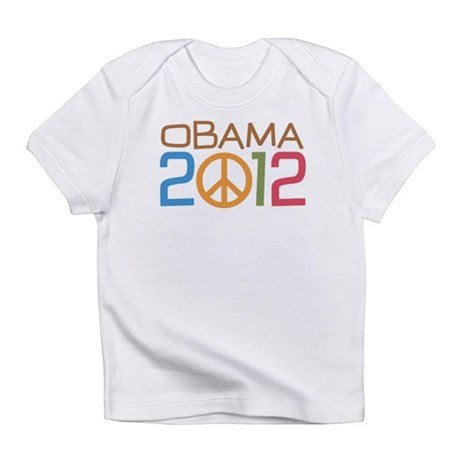 Obama 2012 Peace Infant T-Shirt
