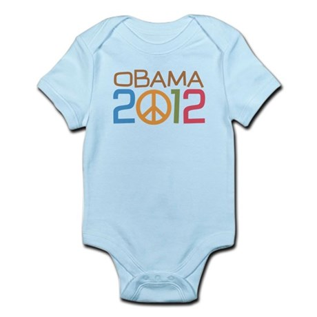 Obama 2012 Peace Infant Bodysuit