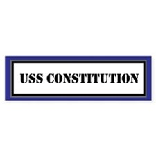 USS Constitution Bumper Sticker