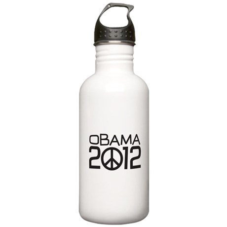 Peace Sign Obama Stainless Water Bottle 1.0L