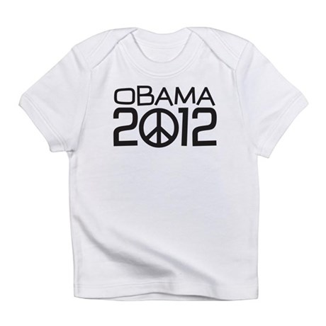Peace Sign Obama Infant T-Shirt