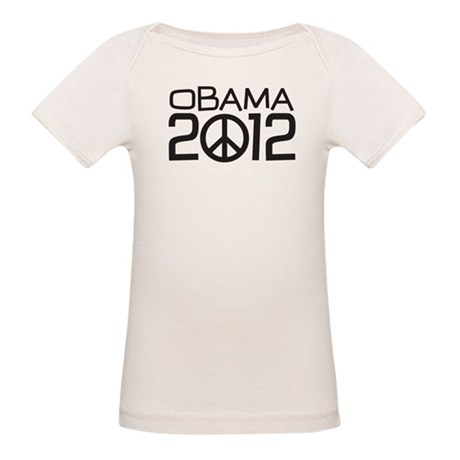 Peace Sign Obama Organic Baby T-Shirt