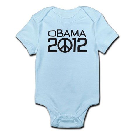 Peace Sign Obama Infant Bodysuit