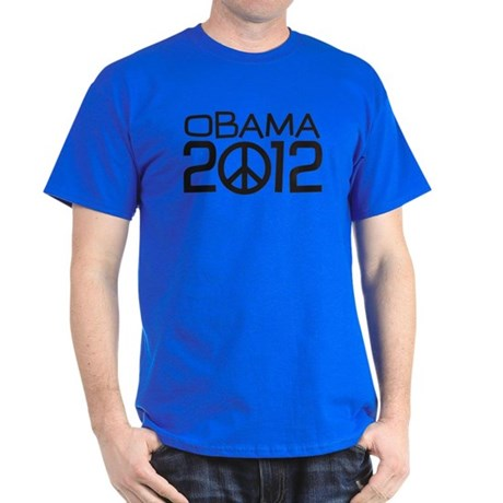 Peace Sign Obama Dark T-Shirt