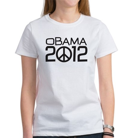 Peace Sign Obama Women's T-Shirt