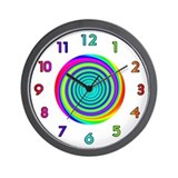 <b>RAINBOW SERIES:</b> Spinning Rainbows W. Clock