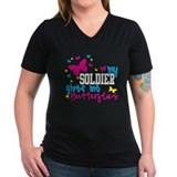 My Soldier Gives Me Butterflies Shirt