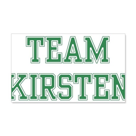 TEAM KIRSTEN 22x14 Wall Peel