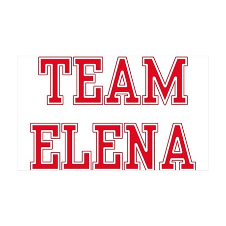 TEAM ELENA 38.5 x 24.5 Wall Peel