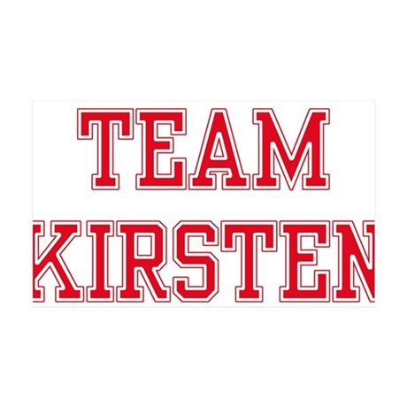 TEAM KIRSTEN 38.5 x 24.5 Wall Peel