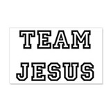 TEAM JESUS 22x14 Wall Peel