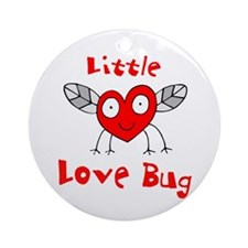 Love Bug Ornament (Round)