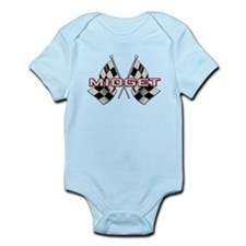 Midget Racing Infant Bodysuit