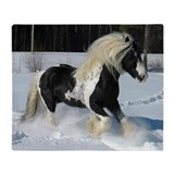 Irish Cob Horse Throw Blanket