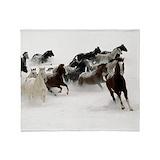 Horse blanket Fleece Blankets