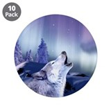 "Winter Wolf 3.5"" Button (10 pack)"