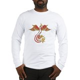 Cute Flames Long Sleeve T-Shirt