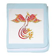 Unique Phoenix baby blanket