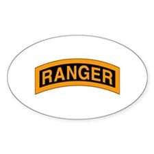Ranger Tab Oval Decal