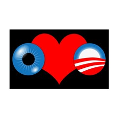 Eye Heart Obama 38.5 x 24.5 Wall Peel