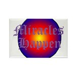 MIRACLES HAPPEN III Rectangle Magnet (10 pack)