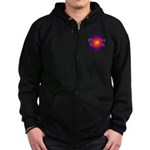 MIRACLES HAPPEN III Zip Hoodie (dark)