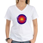 MIRACLES HAPPEN III Women's V-Neck T-Shirt