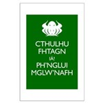 Keep Calm Cthulhu Large Poster