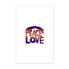 Peace Love Posters