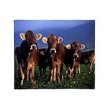 Cow blanket Fleece Blankets