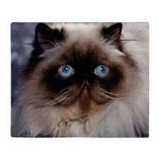 Fluffy Cat Throw Blanket