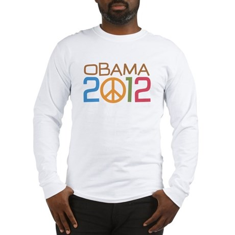 Obama 2012 Peace Long Sleeve T-Shirt