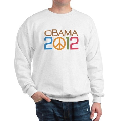 Obama 2012 Peace Sweatshirt