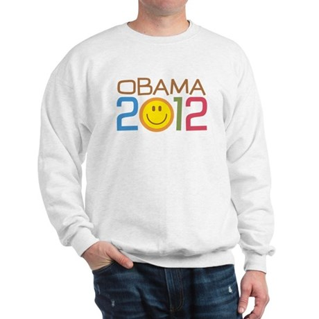 Obama 2012 Smile Sweatshirt