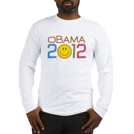 Obama 2012 Smile Long Sleeve T-Shirt