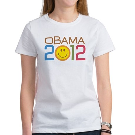 Obama 2012 Smile Women's T-Shirt